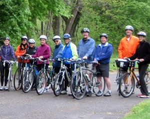 Group bike trip
